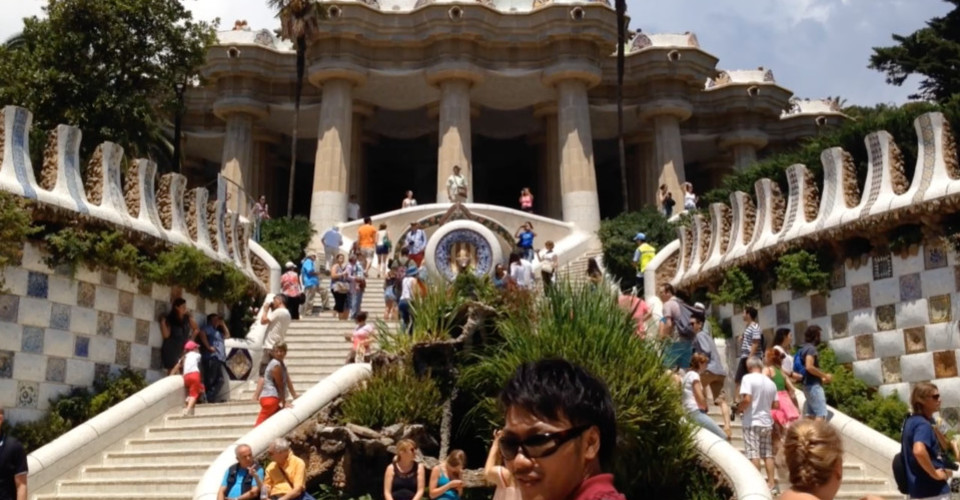 1 minute series   park guell cover 540p