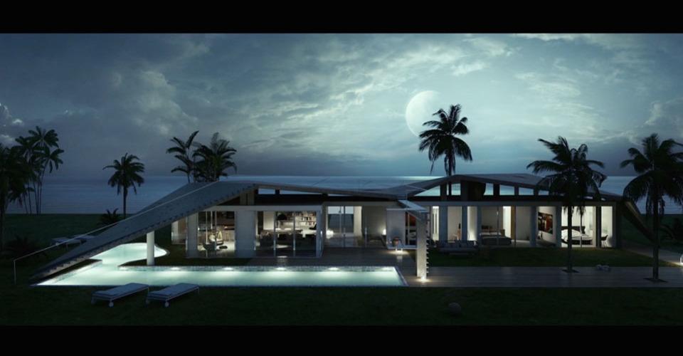 A villa like a tent cover 960 540