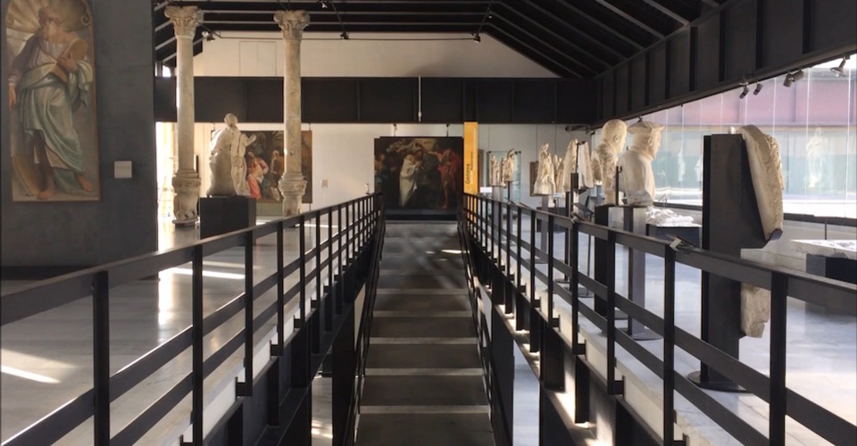 Life inside a museum